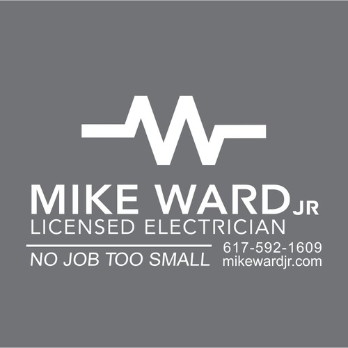 Mike Ward Jr Licensed Electrician needs a new logo