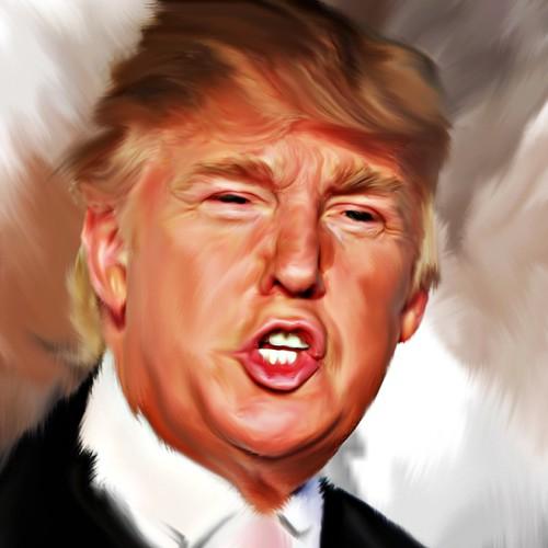 illustration for Donald Trump