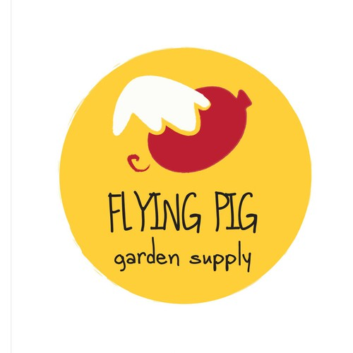 Playful Logo for Garden Suppy Store