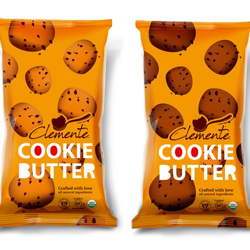 Design packing for COOKIE BUTTER