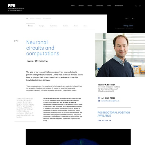 FMI subpages