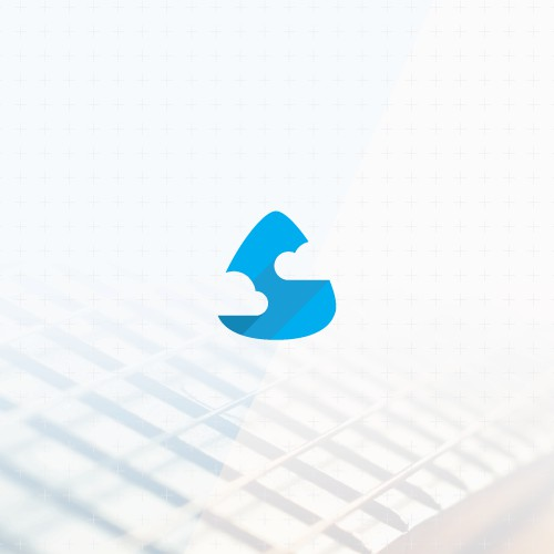 Minimalistic flat logo