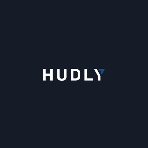 Minimalist logo for HUDLY