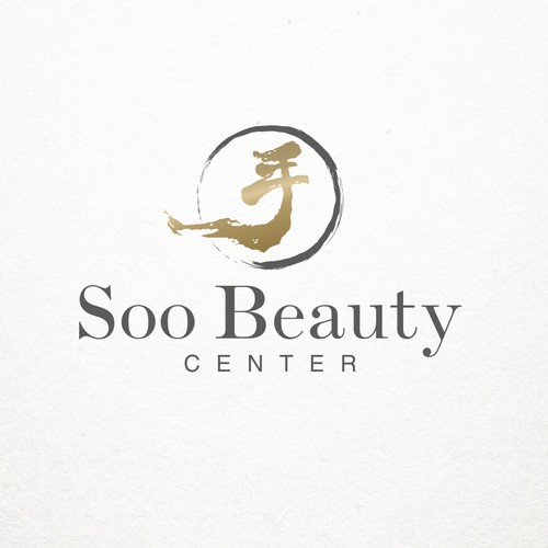 Elegant logo concept for beauty salon