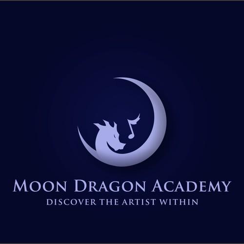"Music Logo ""Moon Dragon Academy"""