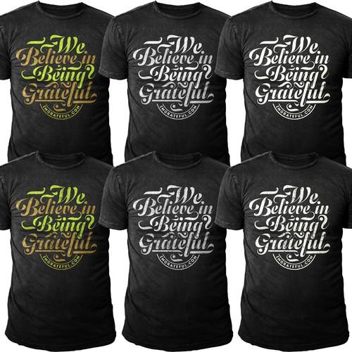 "Tshirt Design for ""IMGRATEFUL.COM"""