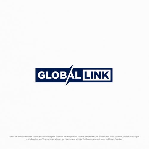 Bold logo for Global Ink