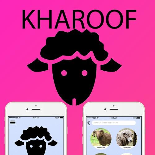 kharoof app design