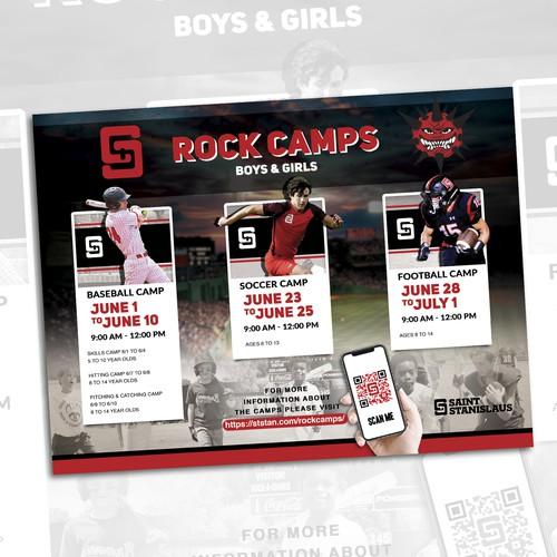 Rock camps flyer