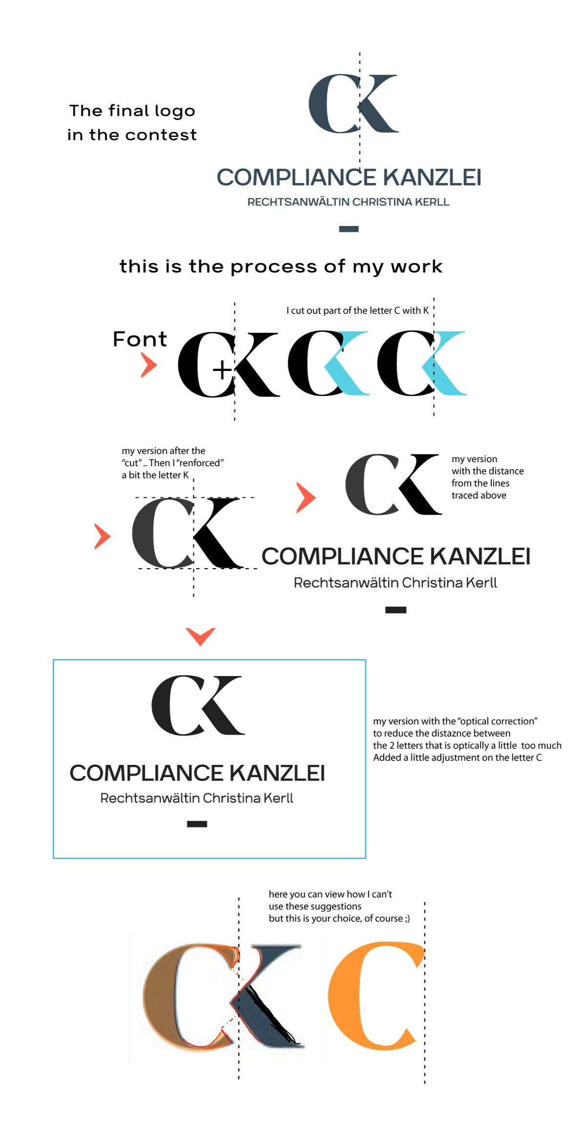New Compliance Law Office in Berlin needs a unique, modern and trustworthy Corporate Identity