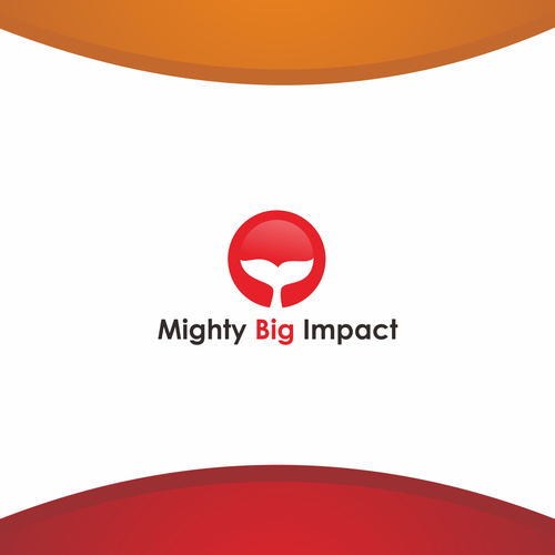 Create a launch logo for Mighty Big Impact marketing consultancy