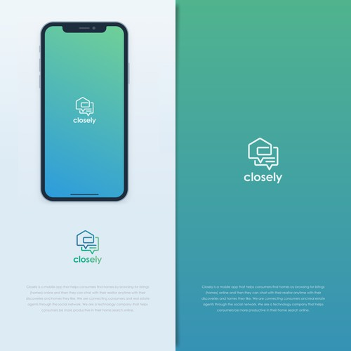 Design a cool logo for an app called CLOSELY