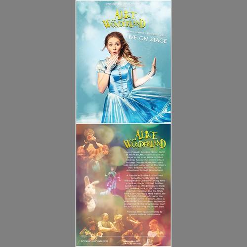 Poster concept for Alice in Wonderland