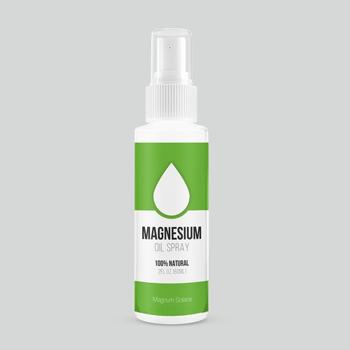 Package design for Magnesium oil spray