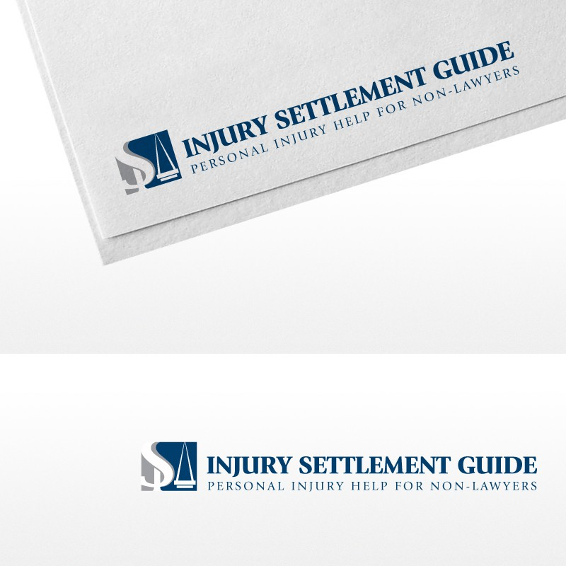 Create the next logo for Injury Settlement Guide