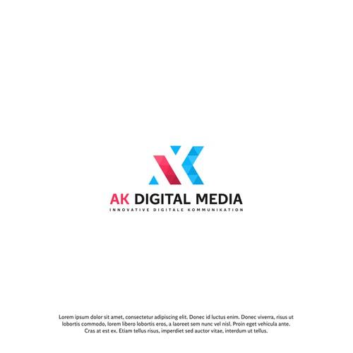 AK Digital Media Logo