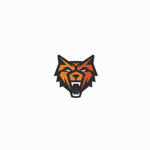 Geometric animal logo