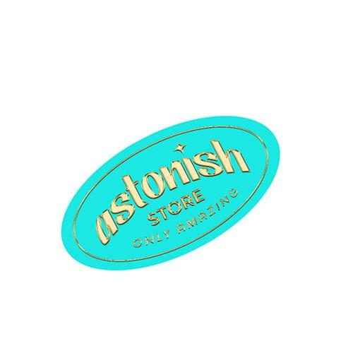 Online store logo concept