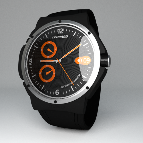sporty watches design