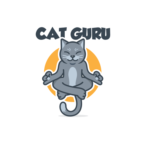 Cat Character for a Brand