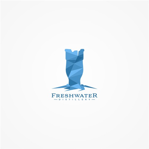 logo for freshwater distillery