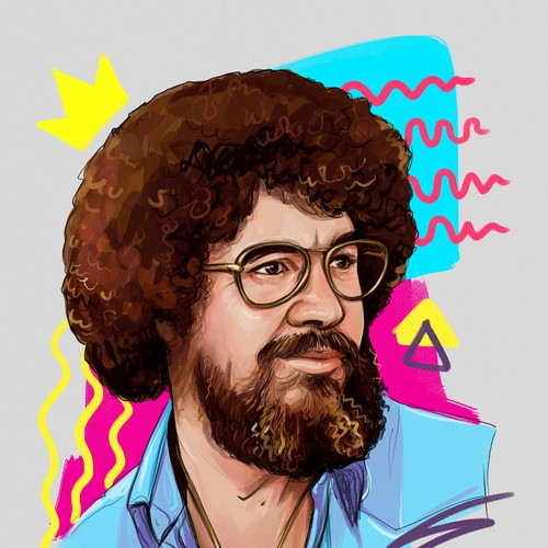 Bob Ross, painting king
