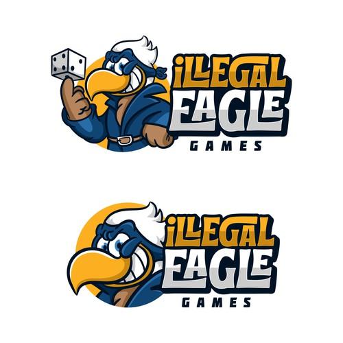 Creative Logo for forbidden Good Games