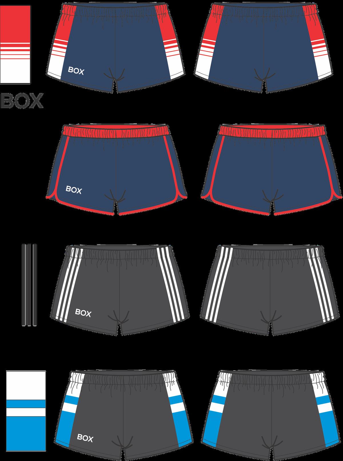 Retro Mens Football / Soccer Shorts Design