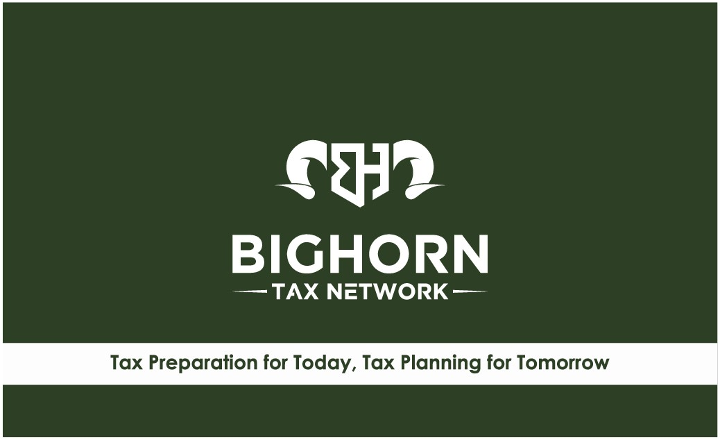 Bighorn Tax Business Cards