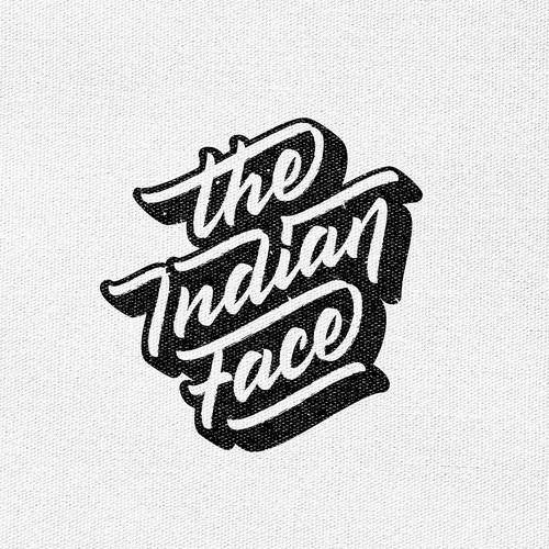 """Print """"The Indian Face"""""""