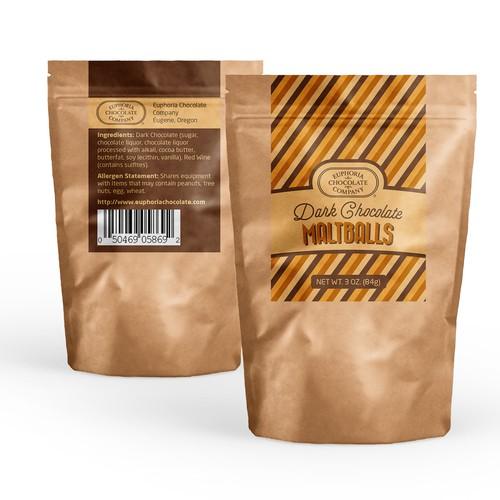 Retro Chocolate Labels