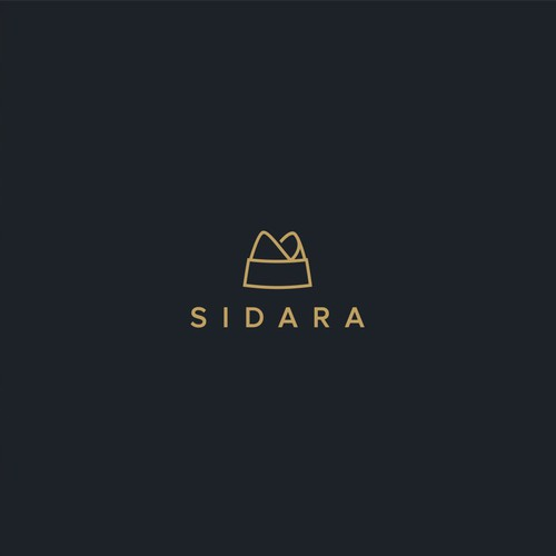 Simple logo for Sidara