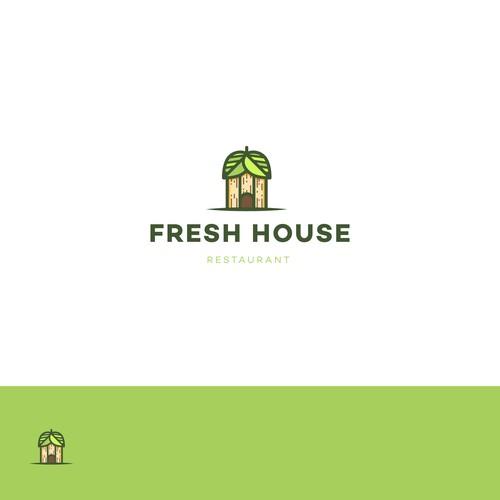 Logo design for an organic breakfast/lunch/dinner restaurant.