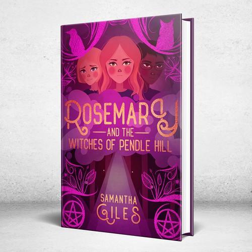 Magical Children's Book Cover Design
