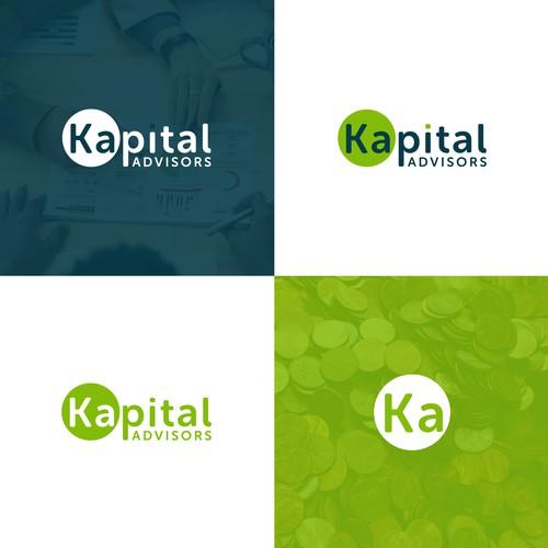 Kapital advisors logo design