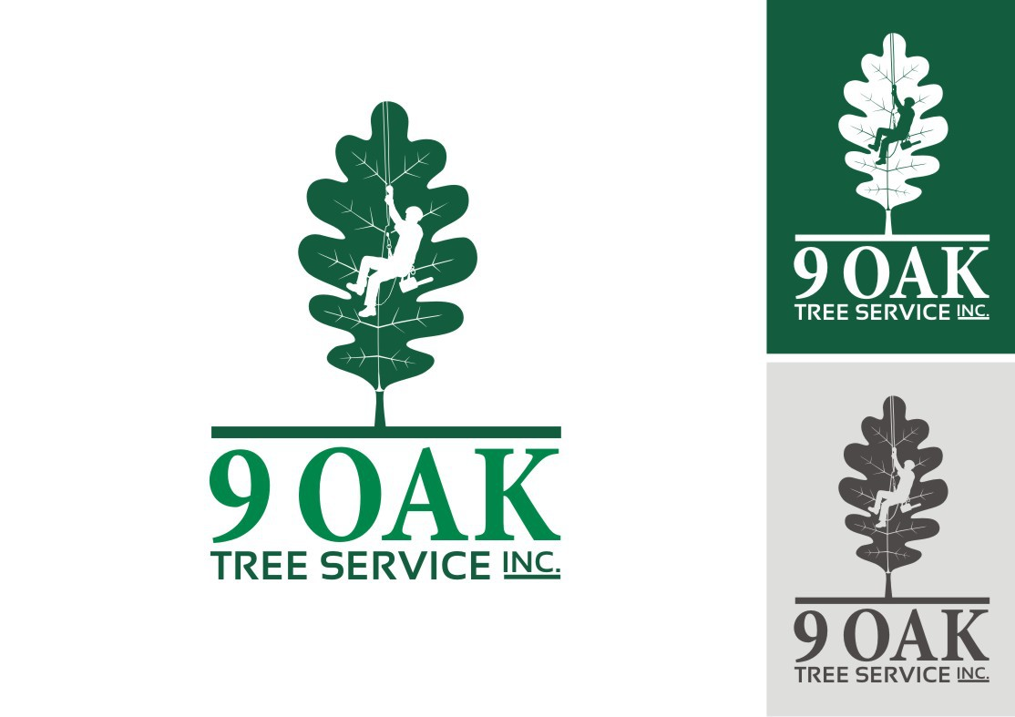 New logo wanted for 9 Oak Tree Service, Inc.
