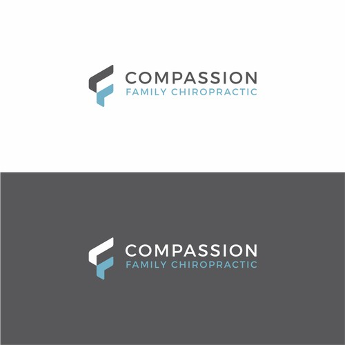 Simple and eye-pleasing logo for a family chiropractic office