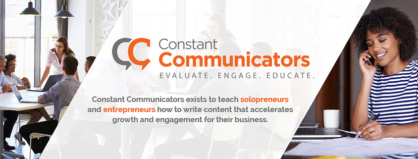 Constant Communicators needs a new Facebook banner