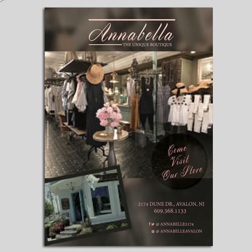 Annabelle 1/4 ad