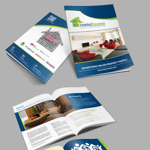 Help instaRooms with a new brochure design