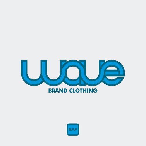 logotype for wave brand clothing