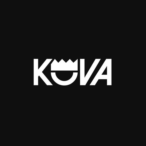Simple logo for Kova cloathing brand