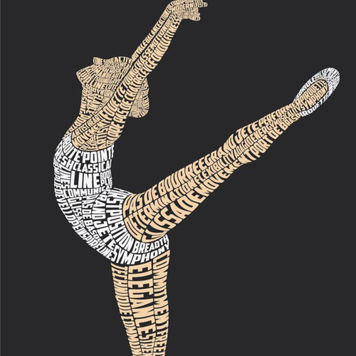 Ballerina Typography