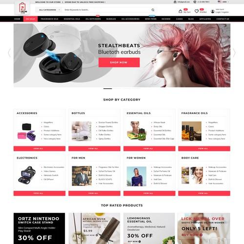 Classic web shop