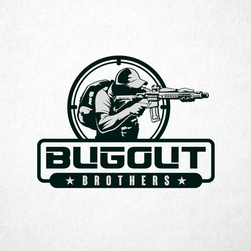 Logo for Bugout Brothers