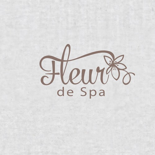 Logo design for spa business