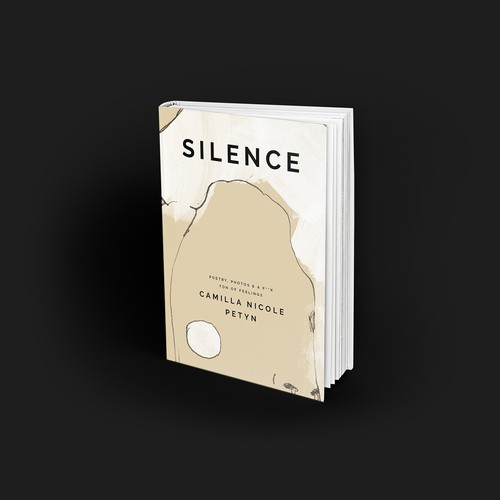 Camilla Nicole Petyn, Silence, book cover and illustration