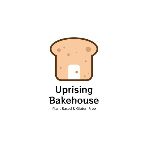 Uprising Bakehouse Logo Design