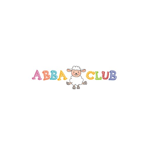 Playfull logo for Abba Club