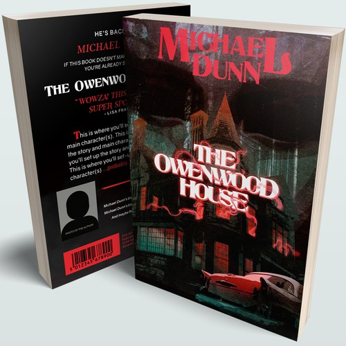 """""""The Owenwood House"""" Cover"""